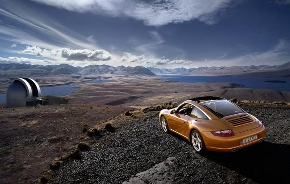 Picture auto, movement, Porsche