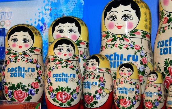 Picture dolls, Sochi 2014, Sochi 2014, Olympic Souvenirs
