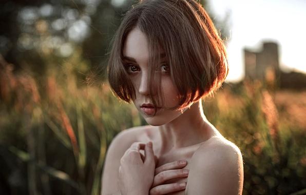 Picture look, sponge, Russia, the beauty, George Chernyadev, Olga Pushkina
