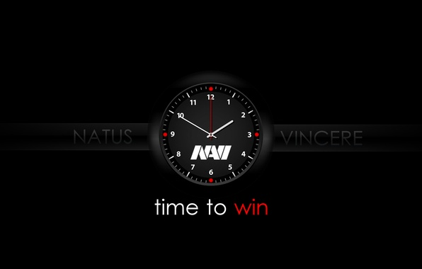 Picture Black, Time, Watch, NaVi, Navi, ESports, Natus vicere