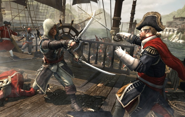 Picture Edward, Assassin's Creed IV: Black Flag, Assassin's Creed 4: Black Flag