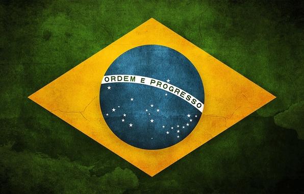 Picture flag, Brazil, brazil