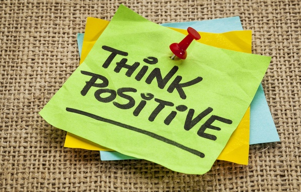 Wallpaper Paper, Ink, Quote, Think Positive Images For