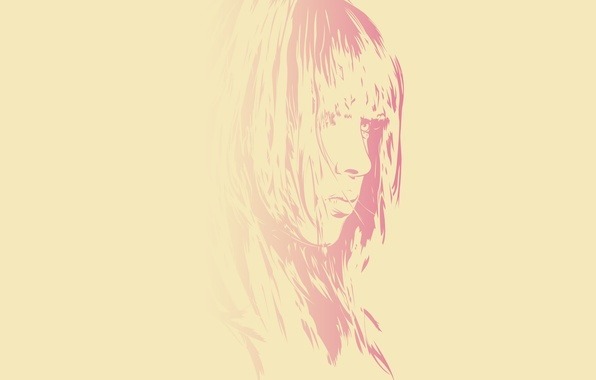 Picture girl, style, creative, vector, art
