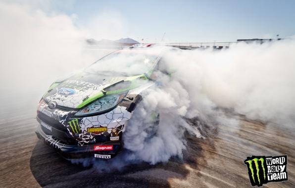 Picture Drift, Monster Energy, Ken Block, Ford Fiesta