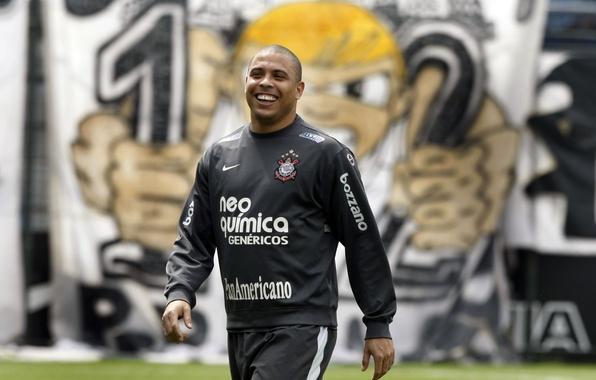 Picture smile, football, laughter, form, Nibbler, player, Nike, football, player, Ronaldo, Luis Nazario de Lima, National …
