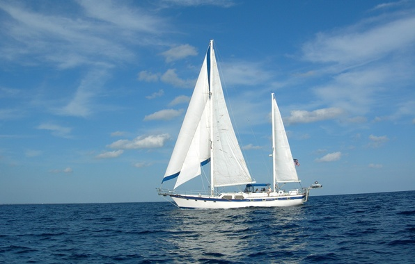 Picture sea, photo, ship, sailboat, yacht
