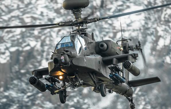 "Apache Helicopter Wallpaper Desktop: Wallpaper Helicopter, Apache, Shock, AH-64, Main, ""Apache"