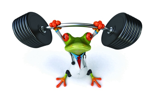 Picture frog, frog, funny, doctor
