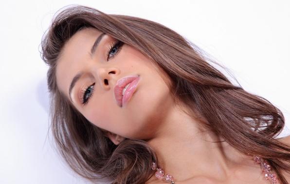 Picture look, girl, face, sexy, background, model, hair, lips, sexy, beauty, Valentina Kolesnikova, Arnella, Valentina Rollin, …