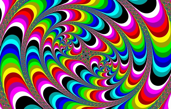 Picture color, line, abstraction, hallucination, illusion