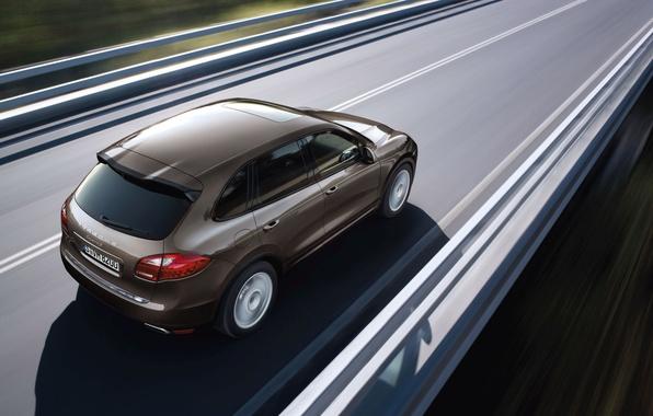 Picture machine, Porsche Cayenne, Porsche Cayenne