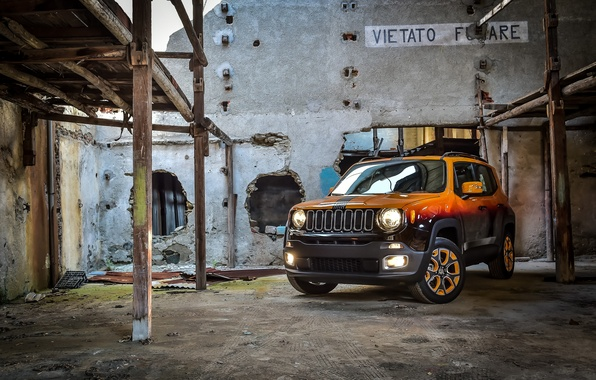 Picture jeep, Jeep, 2015, Renegade, renegade, Garage Italia Customs, Montreux Jazz Festival Showcar