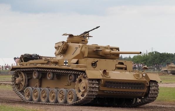 Picture tank, armor, average, Panzerkampfwagen III, PzKpfw III