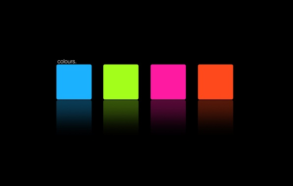 Picture color, orange, red, creative, pink, minimalism, green, colours