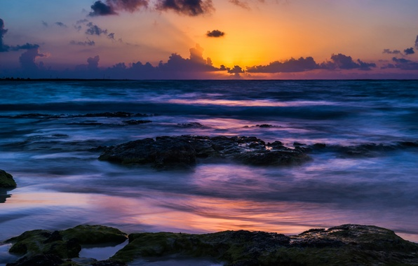 16 Luxury Pubg Wallpaper Iphone 6: Wallpaper Akumal Beach, Mexico, Sunset Images For Desktop