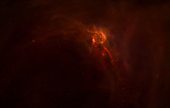 Picture stars, nebula, glow, space, nebula