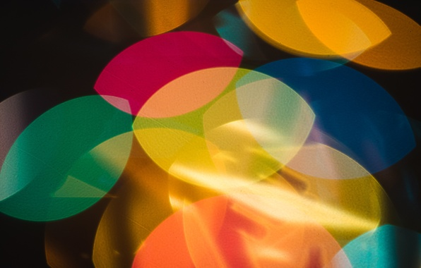 Picture light, background, color, form, figure
