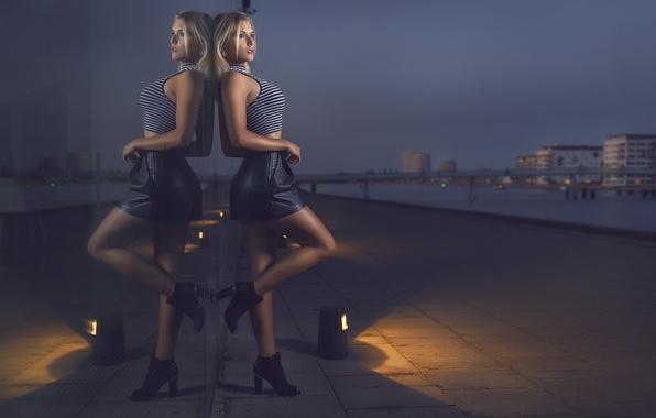 Picture girl, skirt, Mike, blonde, girl, legs, model, Nathan Photography, Tonny Jorgensen, Christine Bogh Liljegren