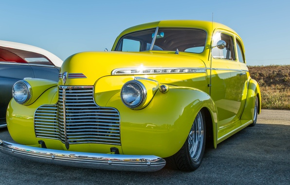 Picture retro, Chevrolet, classic, 1940, Special Deluxe