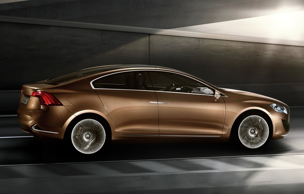 Picture Volvo, the concept car, S 60