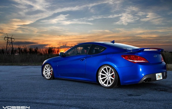 Picture hyundai, low, stance, genesis