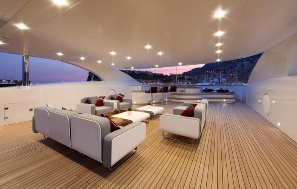 Picture room, interior, ship