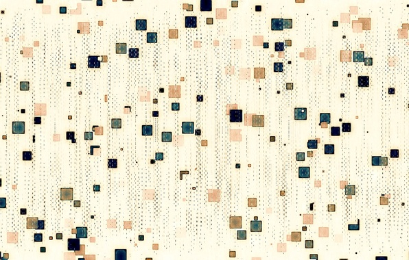 Picture pattern, color, fabric, square, touch