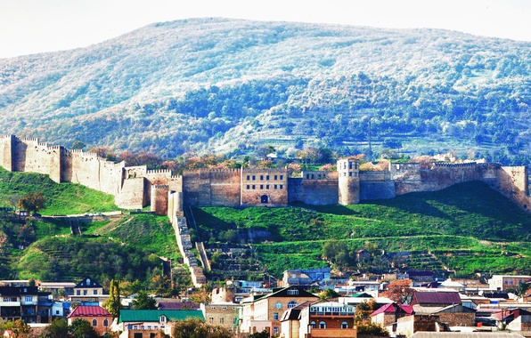 Picture the city, fortress, Dagestan, the ancient city, Naryn-Kala, Derbent, 5000 years