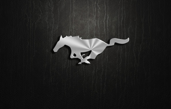 Picture mustang, logo, ford