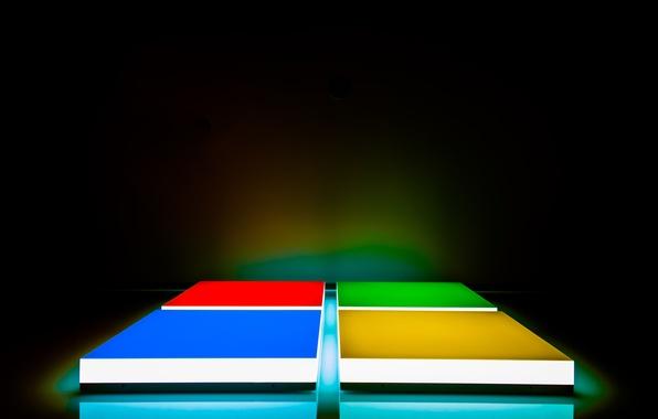Picture color, logo, Microsoft