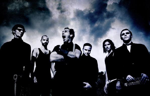 Picture metal, rock, Rammstein, metal, rock, Till Lindemann, Oliver Riedel, Till Lindemann, industrial metal, Paul Landers, …