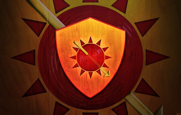 Picture the sun, book, spear, the series, shield, coat of arms, A Song of Ice and …