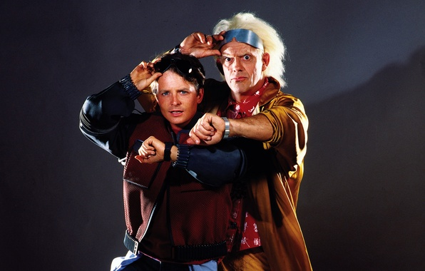 Picture Back to the future, Michael J. Fox, Christopher Lloyd