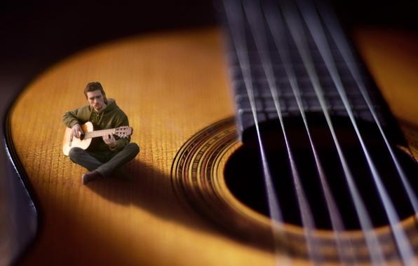 Picture music, guitar, musician