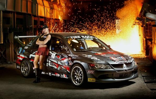 Picture sport, Domna, Mitsubishi Lancer Evolution 9