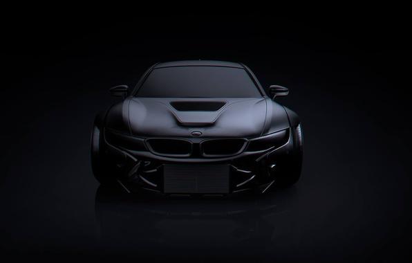 Picture BMW, Dark, Black, Matte, Tuning, Future, by Khyzyl Saleem