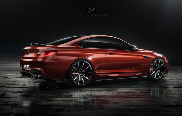 Picture tuning, BMW, coupe, red, tuning, rechange, bmw m6, Duron Automotive