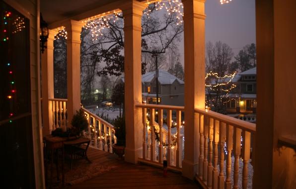 Picture city, the city, USA, christmas, winter, South_Carolina, new_year, Charleston