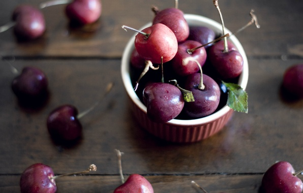 Picture cherry, background, widescreen, Wallpaper, food, berry, wallpaper, widescreen, background, cherry, full screen, HD wallpapers, widescreen, …