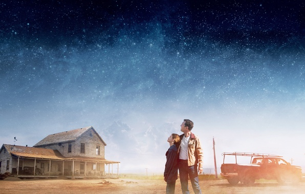 Picture Cooper, Girl, House, Clouds, Sky, Cars, Stars, Legendary Pictures, Wallpaper, Mountains, Year, EXCLUSIVE, Man, Movie, …
