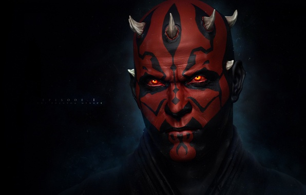 Picture star wars, star wars, Darth Maul, Sith, Darth Maul, The Sith Lord