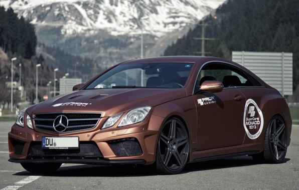 Picture Mercedes, Mercedes, Black Edition, 2013, Widebody, Prior-Design, C207, PD850