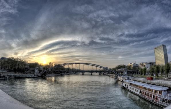 Picture Paris, France, Pont d'austerlitz