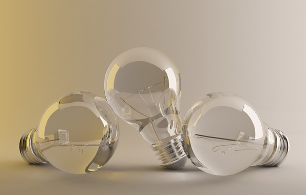 Picture glass, background, lamp, light bulb, Studio, glow