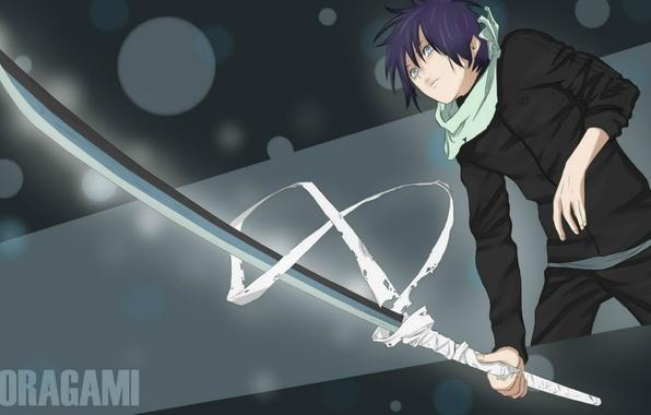 wallpaper sword  guy  noragami  yato images for desktop