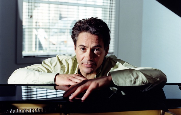 Picture actor, piano, robert downey jr, actor, plan, Robert Downey Jr.
