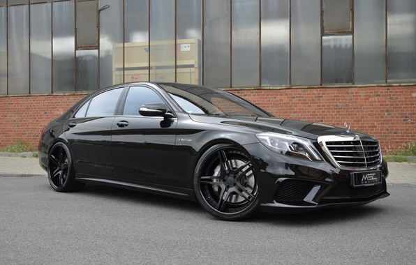 Picture black, Mercedes-Benz, Mercedes, AMG, Black, MEC Design, S-Class, W222