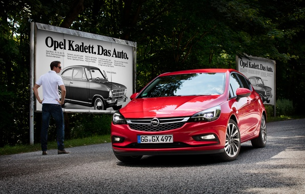 Photo wallpaper Astra K, Astra, Opel, 2015, Opel