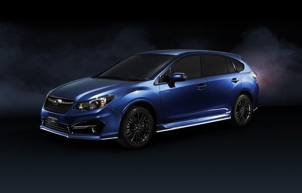Picture Subaru, Impreza, Hybrid, Subaru, Impreza, Sport, 2015